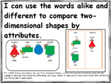 Kindergarten Go Math Objective Posters With Pictures Whole Year