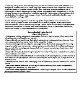 Kindergarten Go Math Unit Plan Unit 2 Chapters 5-6
