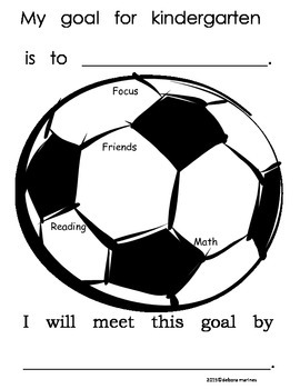 Kindergarten Goal