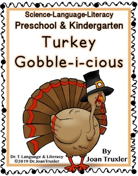 Kindergarten and Preschool Gobble-i-cious Daily Work for November