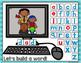 Kindergarten Google Classroom - CVC Build a Word
