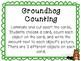 Kindergarten Goundhog Day Math Center- Groundhog Counting Center