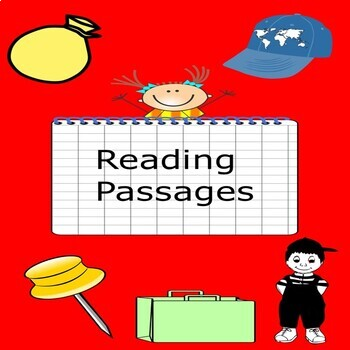 Kindergarten, Grade 1 Reading Comprehension Passages ack, ag, ad,ap word family