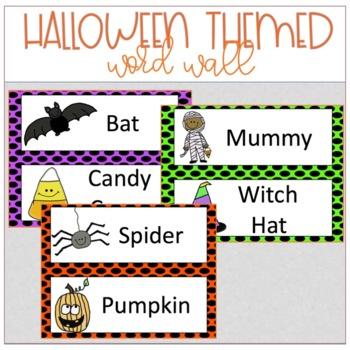 Halloween: Kindergarten/Grade 1/SpEd: Math-Language Mini Unit