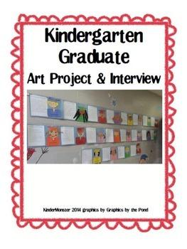 Kindergarten Graduate Self Portrait and Interview
