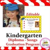 Kindergarten Diploma {Activities & Songs}