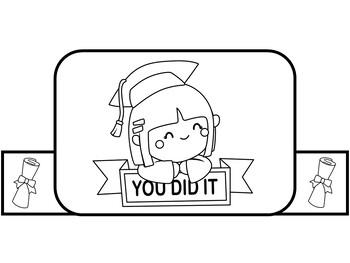 Kindergarten Graduation Craft   Kindergarten Graduation Activity