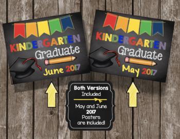 Kindergarten Graduation 2017 - Poster - Sign