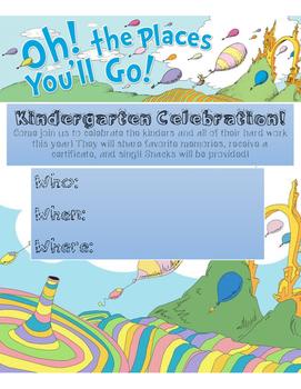 Kindergarten Celebration Invite