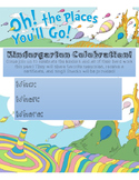 Kindergarten Celebration Invite