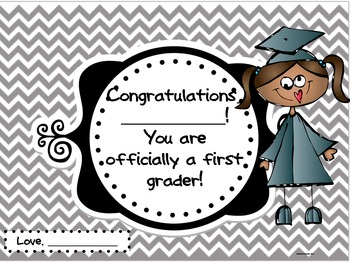 Kindergarten Graduation Award