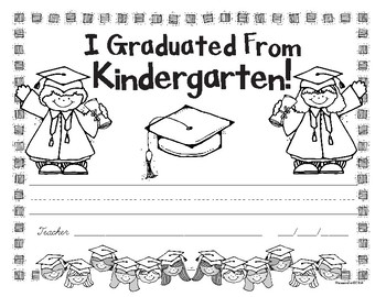kindergarten graduation award free by primary pam tpt