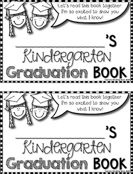 """Kindergarten Graduation Book --- End-of-Year """"Show What I Know"""" Book"""