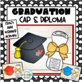 Kindergarten Graduation Cap & Diploma Craft