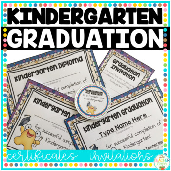 graduation certificates for kindergarten