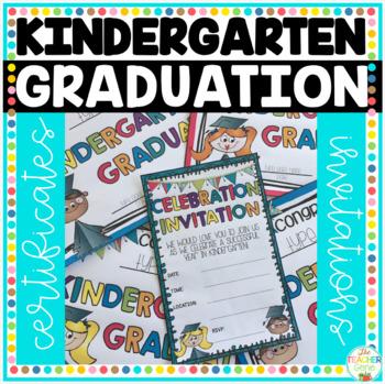 Kindergarten Graduation Certificates Kindergarten Graduation