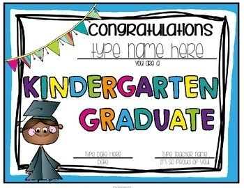 Kindergarten Graduation Certificates & Kindergarten Graduation Invitations