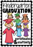 Kindergarten Graduation Craftivity + Certificate