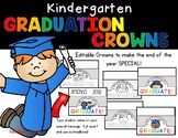 Kindergarten Graduation Crown--Editable!