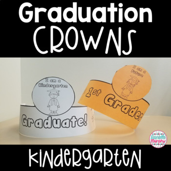 Kindergarten Graduation Crowns for End of Year