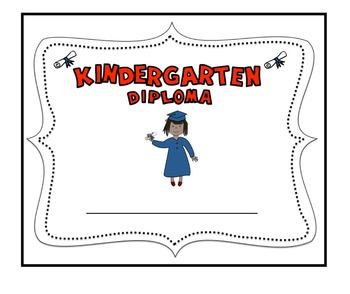 free kindergarten graduation diploma by carmela fiorino vieira tpt