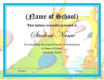 kindergarten graduation diploma by teach like a champion today tpt