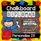 Diplomas or Certificates for Graduation Preschool - 6th Grade