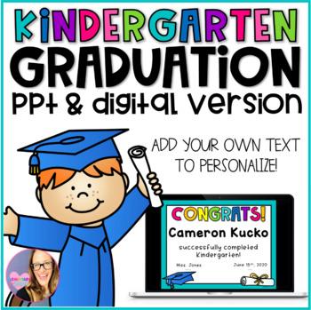 Kindergarten Graduation Editable Diplomas, Invitations, and Memory Book
