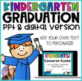 Kindergarten Graduation Editable Diplomas, Invitations, an