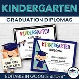 Kindergarten Graduation - Editable Templates for Google Slides™