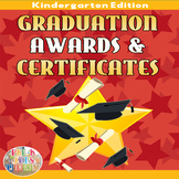 Kindergarten Graduation: Editable Diplomas & Certificates End of the Year Awards