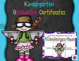 Kindergarten Graduation Fun Certificates