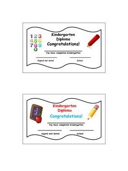 Kindergarten Graduation Kid Craftivity