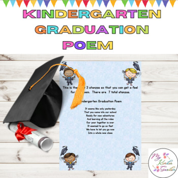 Pleasant Kindergarten Graduation Poe By My Kinder Garden  Teachers Pay  With Entrancing Kindergarten Graduation Poem For End Of Year With Easy On The Eye Garden Wagon Planter Also Apple Store Covent Garden Address In Addition Britains Floral Garden And Midnight In The Garden Of Good And Evil Author As Well As Plants Vs Zombies Garden Warfare  Additionally Kids Gardening Kit From Teacherspayteacherscom With   Entrancing Kindergarten Graduation Poe By My Kinder Garden  Teachers Pay  With Easy On The Eye Kindergarten Graduation Poem For End Of Year And Pleasant Garden Wagon Planter Also Apple Store Covent Garden Address In Addition Britains Floral Garden From Teacherspayteacherscom