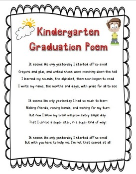 preschool graduation poem kindergarten graduation poem nursery rhymes diploma by 696