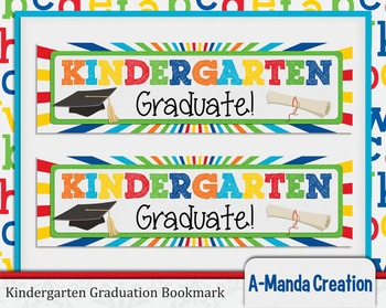 Kindergarten Graduation Printable Bookmarks