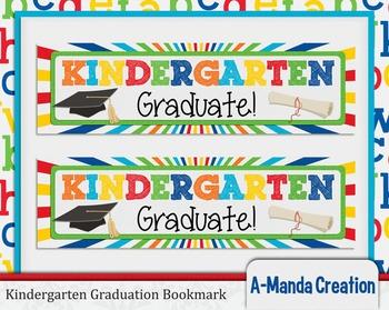 Kindergarten Graduation Printable Bookmarks