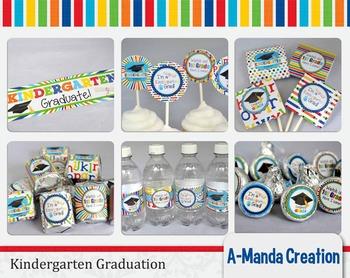 Kindergarten Graduation Printable Bundle