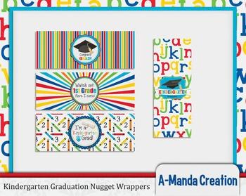 Kindergarten Graduation Printable Nugget Wrappers