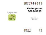 Kindergarten Graduation Program (Editable)