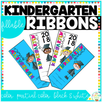 Kindergarten Graduation Ribbons