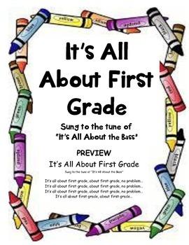 "Kindergarten Graduation Song ""It's All About First Grade"""