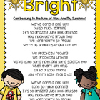 Kindergarten Graduation Poem or Song Lyrics