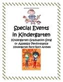 Kindergarten Graduation Song or Assembly Performance