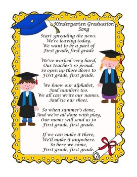 Kindergarten Graduation Songs