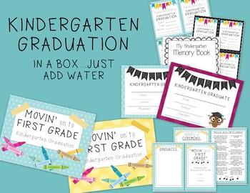 Kindergarten Graduation in a Box