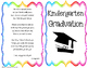 Editable Kindergarten Graduation/Celebration Printables