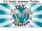 Grammar Practice K-2 (Opposites) - Common Core