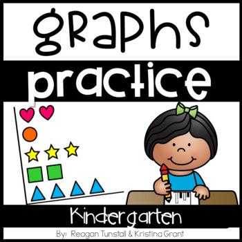 Kindergarten Graphing Practice Pages