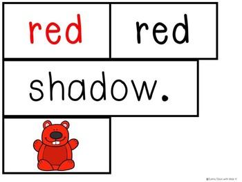 Kindergarten Groundhog Day Literacy Center - Groundhog Pocket Chart Center